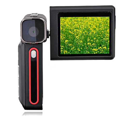 Youtube-FriendlyDigiLife DDV-A700 5.0MP CMOS - 2.4-inch TFT LCD Digital Camcorder with MP3 Player
